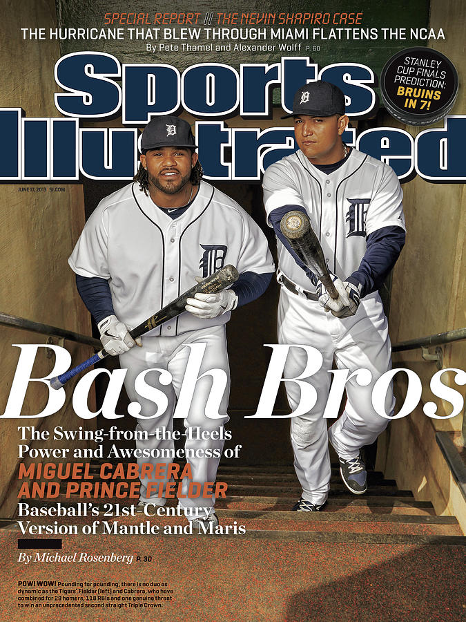 Bash Bros The Swing-from-the-heels Power And Awesmoeness Of Sports Illustrated Cover Photograph by Sports Illustrated