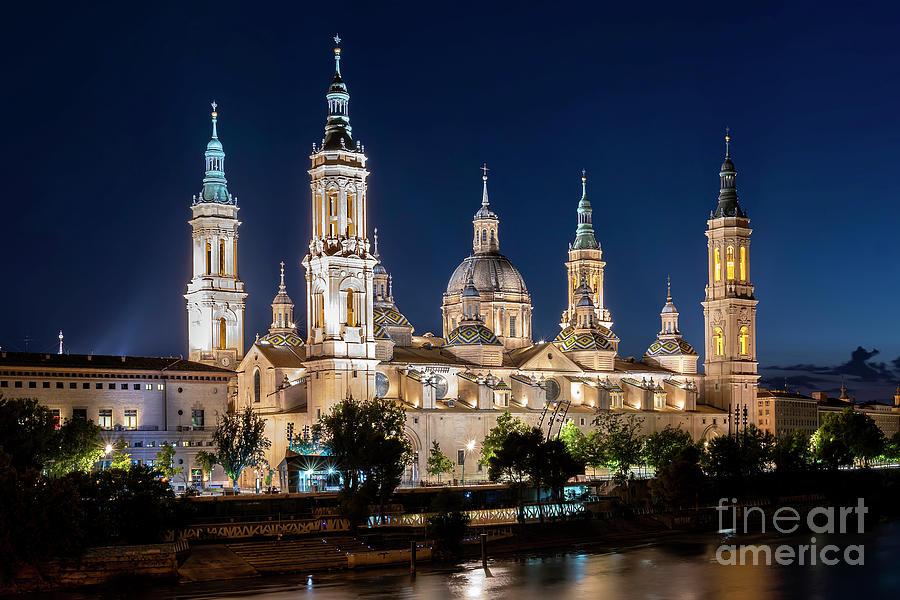 Basilica del Pilar - Zaragoza Cathedral - Spain by Hernan Bua