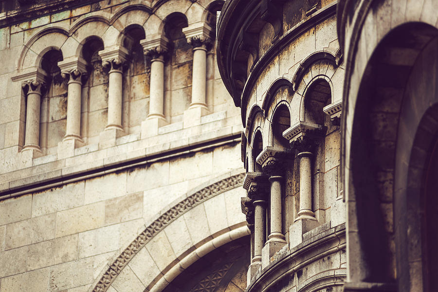 Basilica of Sacre Coeur in Montmartre. Paris, France by Eduardo Huelin