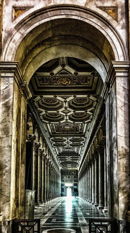 Italia Photograph - Basilica Papale Di San Paolo Fuori Le Mura by Joseph Yarbrough
