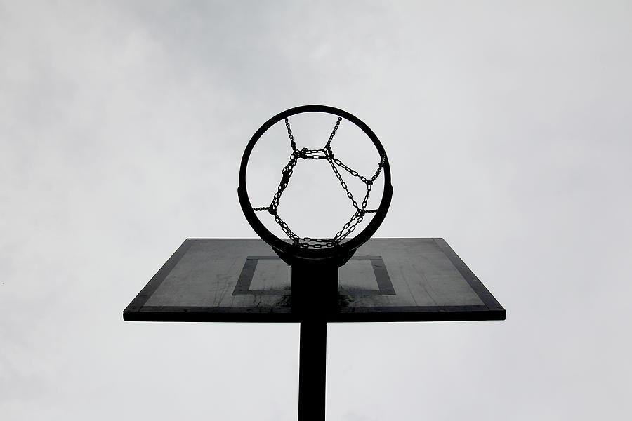 Basketball Hoop Photograph by Christoph Hetzmannseder
