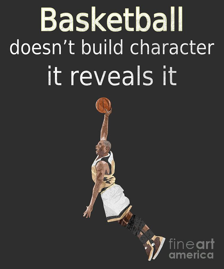 Basketball quote character by Valerie Garner