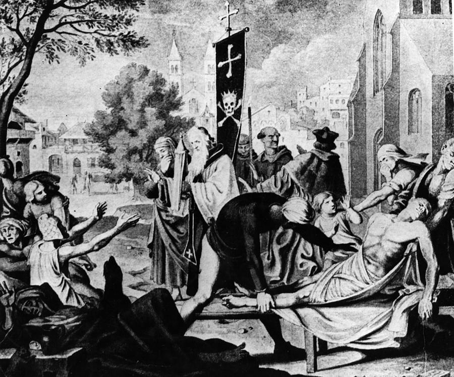 Basle Plague Photograph by Hulton Archive