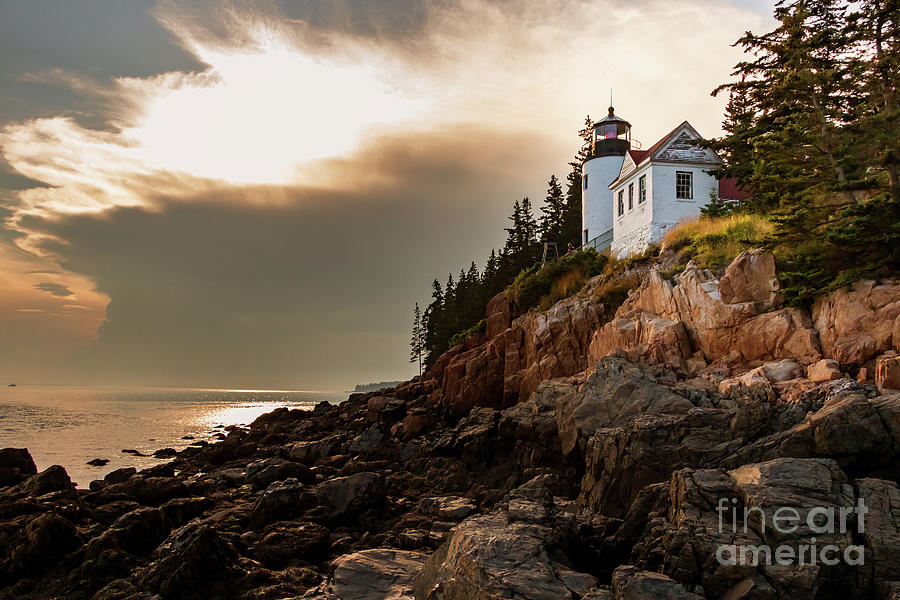 Bass Harbor Head Light Photograph