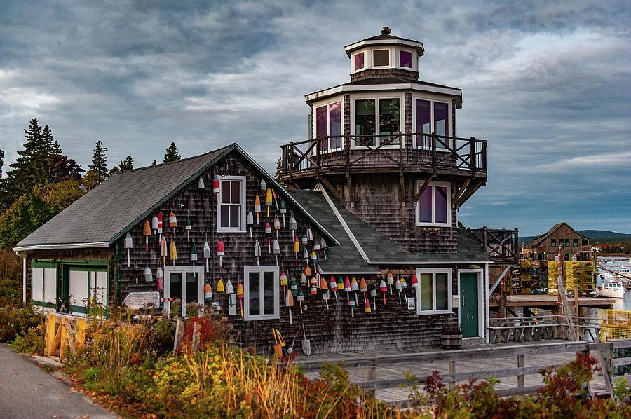 Bass Harbor by Rick Hartigan