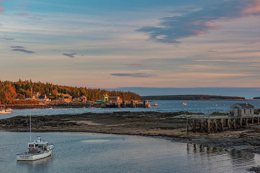 Bass Harbor Sunset by Rick Hartigan