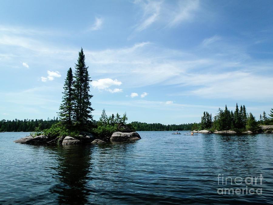 Bat Lake Islands by Lori Dobbs