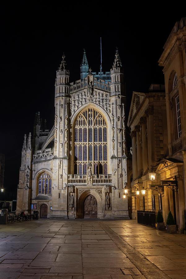 Bath Abbey by Steev Stamford