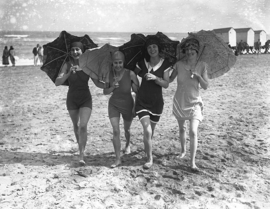 Bathing Belles Photograph by Reg Speller