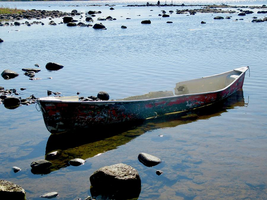 Battered Boat by Stephanie Moore