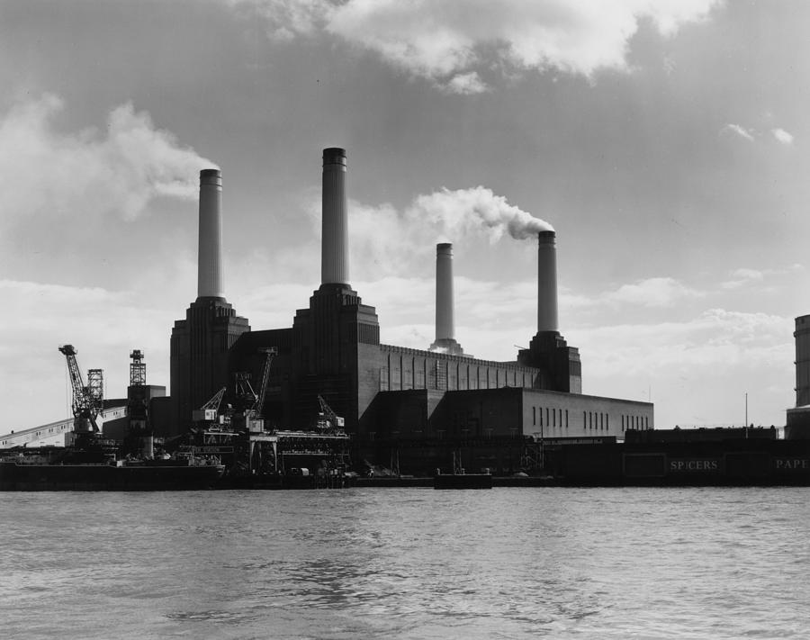 Battersea Power Photograph by Woolnough