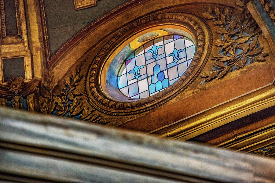 Archbasilica Of St. John Lateran Photograph - Battistero Lateranense Di San Giovanni In Fonte by Joseph Yarbrough