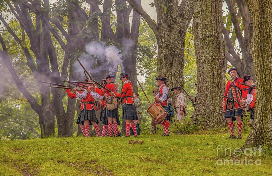 Battle of Bushy Run Three by Randy Steele