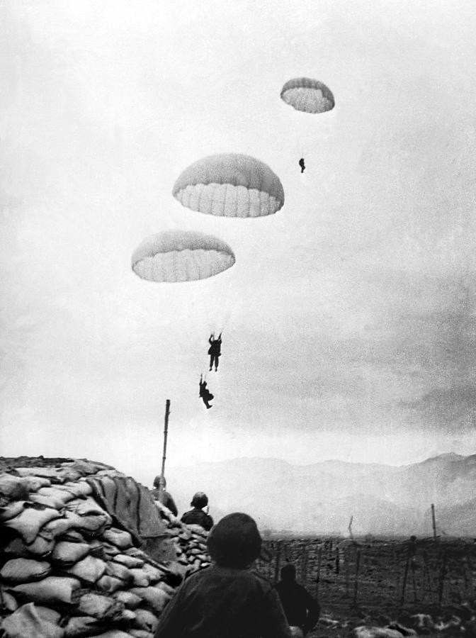 Battle Of Dien-bien-phu In 1954 Photograph by Keystone-france