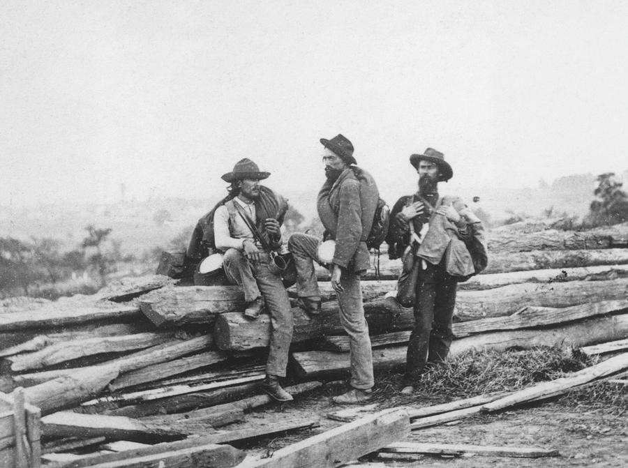 Battle Of Gettysburg Photograph by Archive Photos
