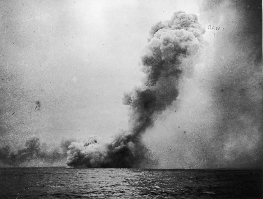 Battle Of Jutland Photograph by Fotosearch