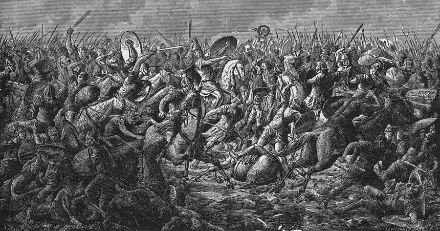 Battle Of Pharsalus Photograph by Kean Collection