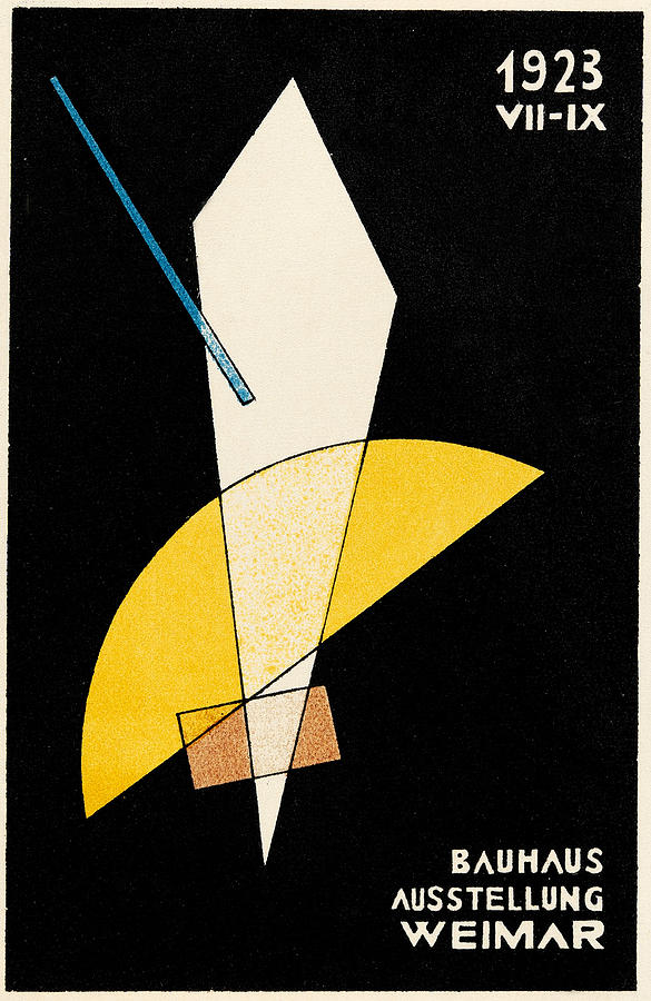 Bauhaus Exhibition 1923 by Andrew Fare