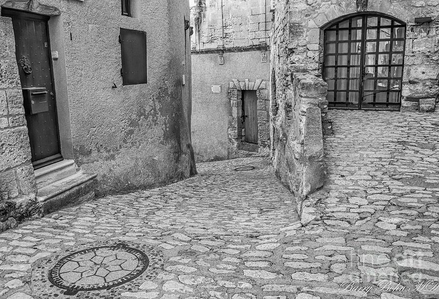 Baux de Provence BW by Barry Bohn