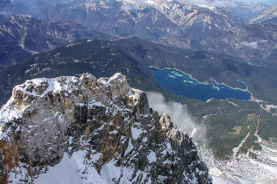 Bavarian Alps Overlook by Dawn Richards