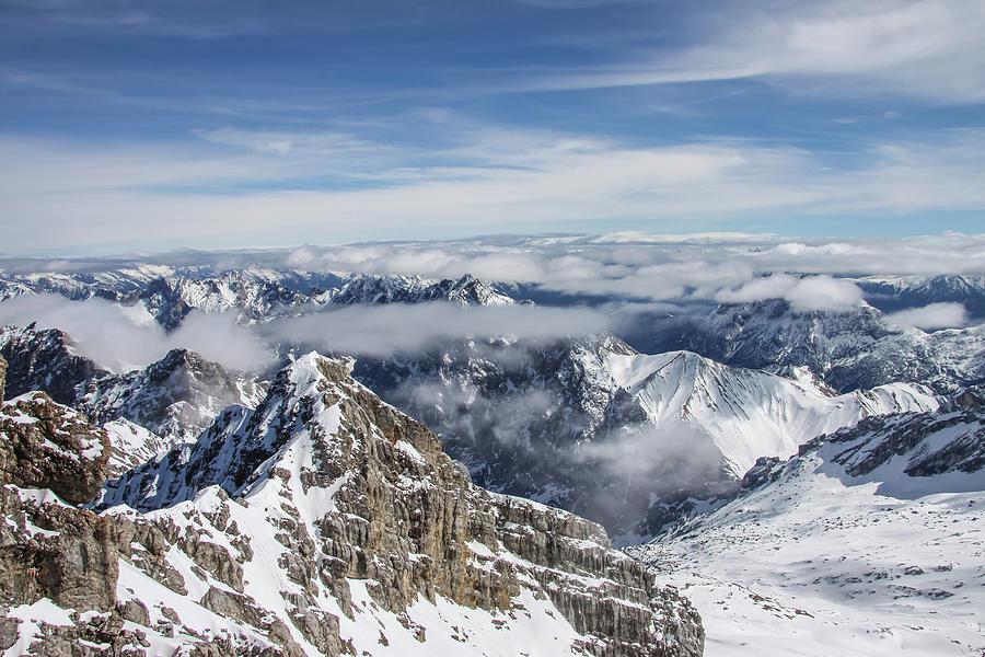 Bavarian Alps, Zugspitze by Dawn Richards