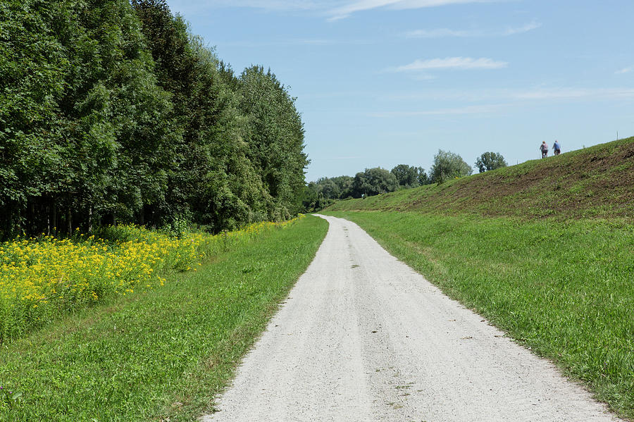 Bike Route Photograph - Bavarian Bicycle Route by Iris Richardson