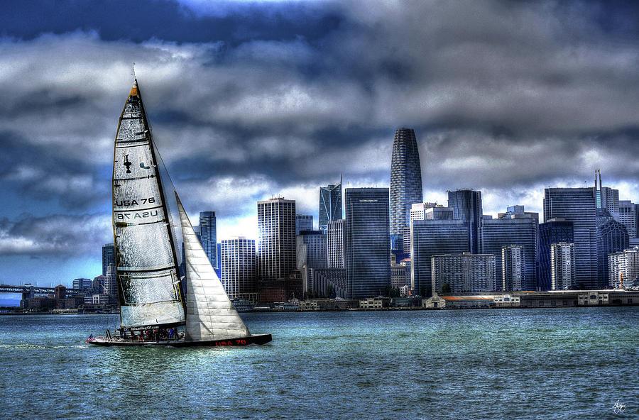 Bay City Sail by Wayne King