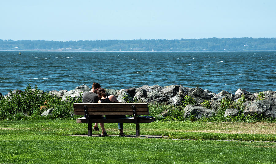Bay Watching with a Friend by Tom Cochran