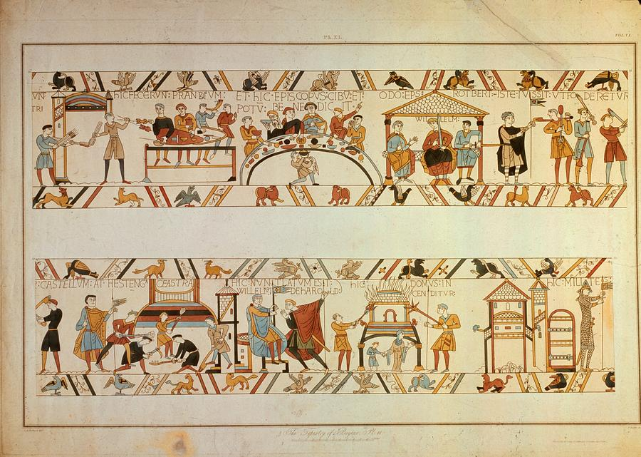 Bayeux Tapestry Photograph by Hulton Archive