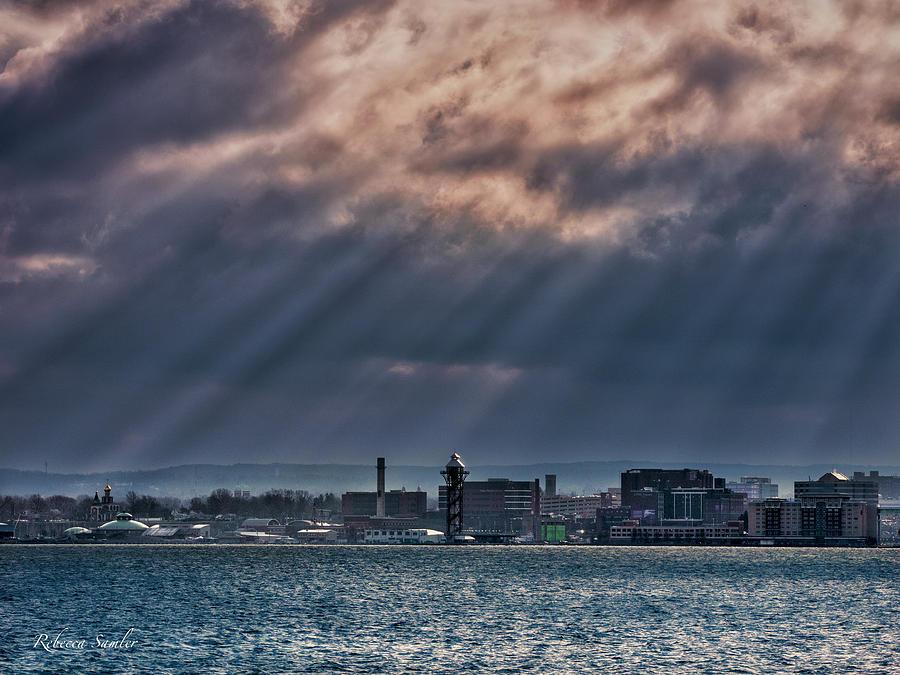 Bayfront Sunrays by Rebecca Samler