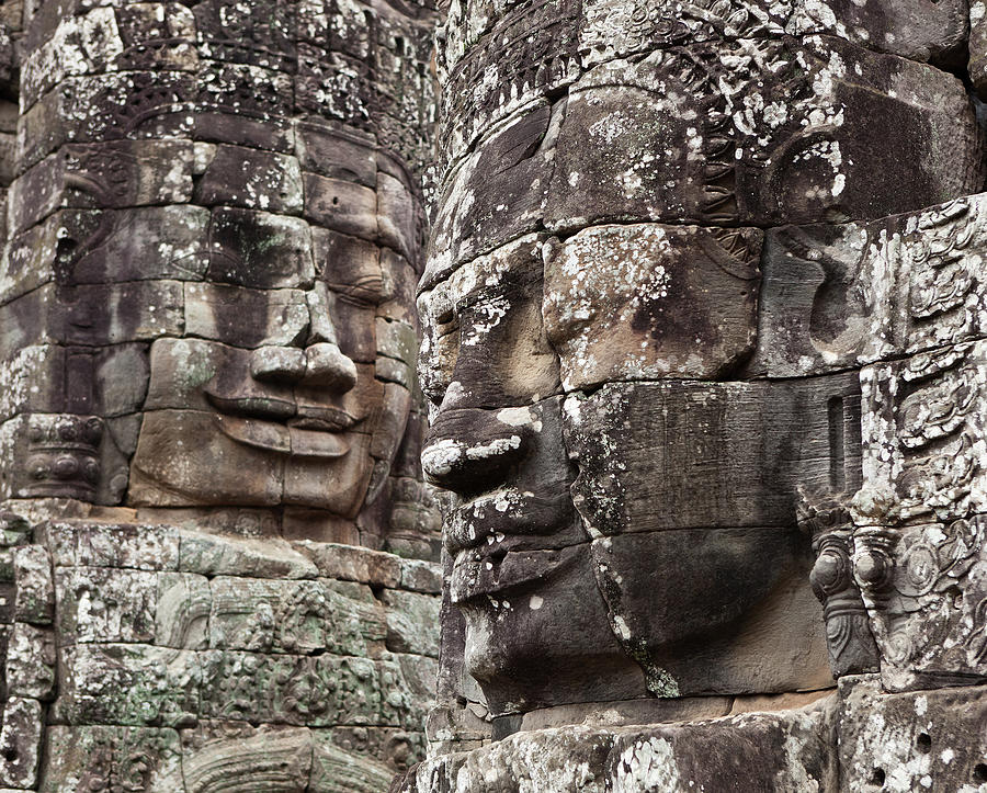 Bayon Temple At Angkor Wat Photograph by Traveler1116