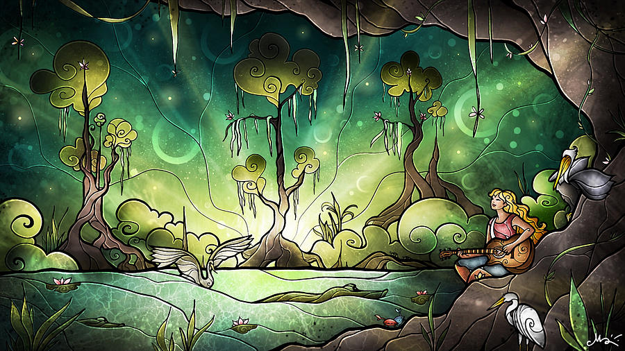 Bayou Enchantment by Mandie Manzano