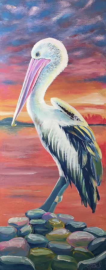 Bayou Pelican / Modern Ibis by Sean Linell Ivy-El