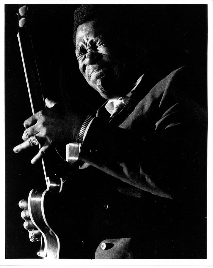 Bb King Performing Photograph by Tom Copi