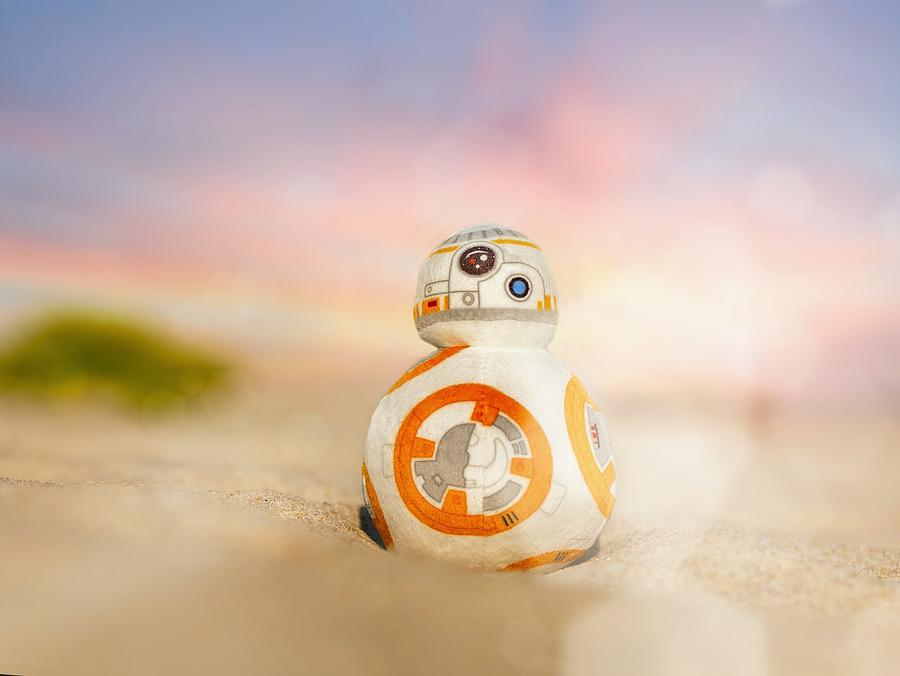 Star Wars Photograph - BB8 by Hsin Cheu