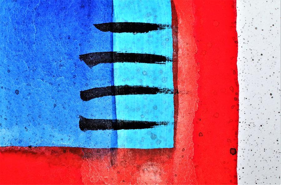 Bright Colors Painting - Bbrw by Stuart Peterman
