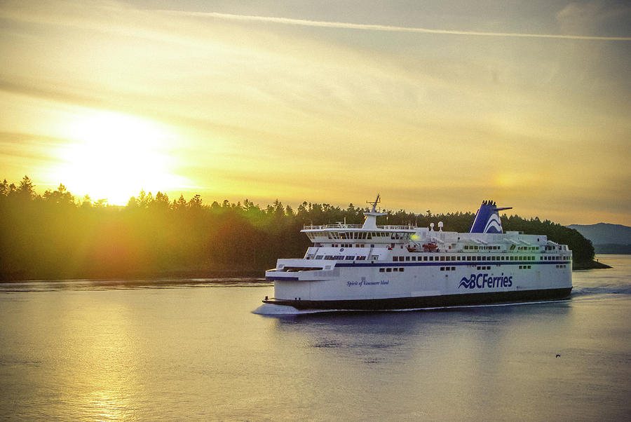 BC Ferries by Marilyn Wilson