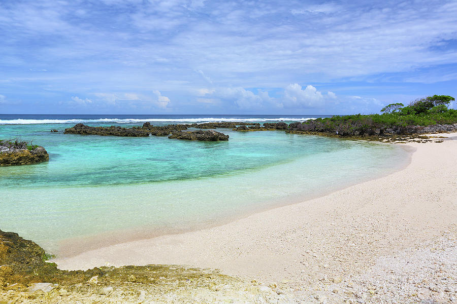 Beach At Banana Bay, Eton,efate Island Photograph by Peter Unger