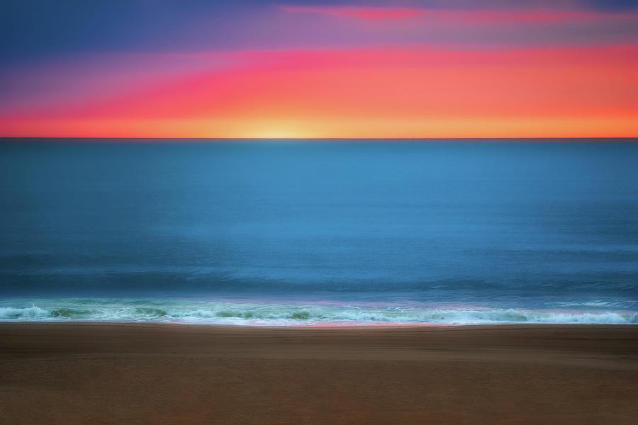 Atlantic Photograph - Beach at Sunrise by Tom Mc Nemar