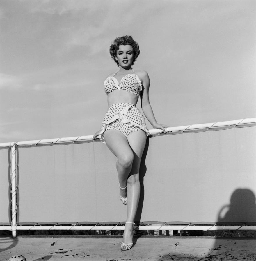 Beach Belle Photograph by Hulton Archive