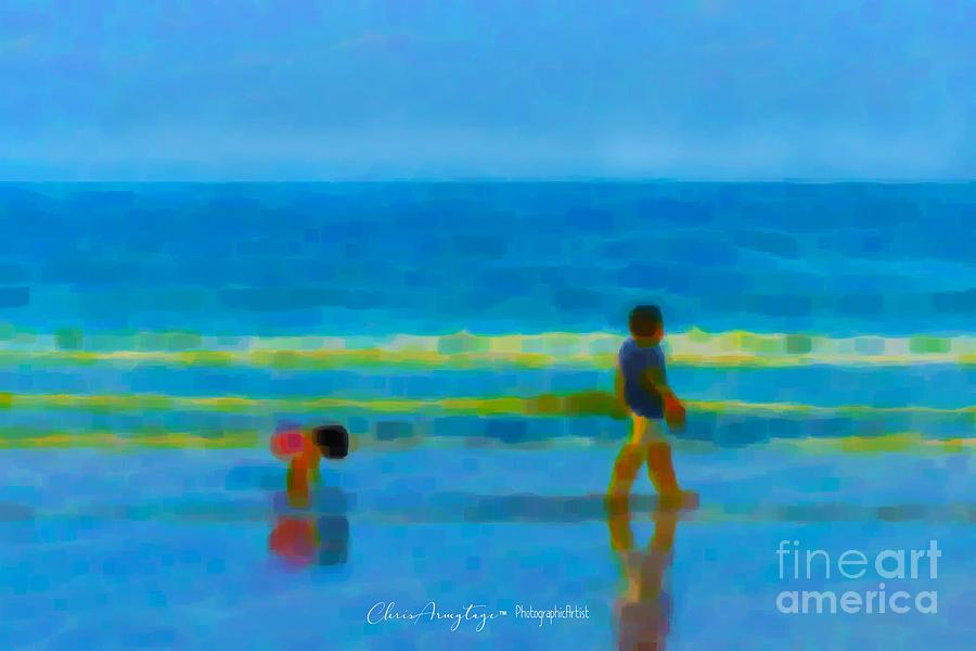 Beach Blues by Chris Armytage