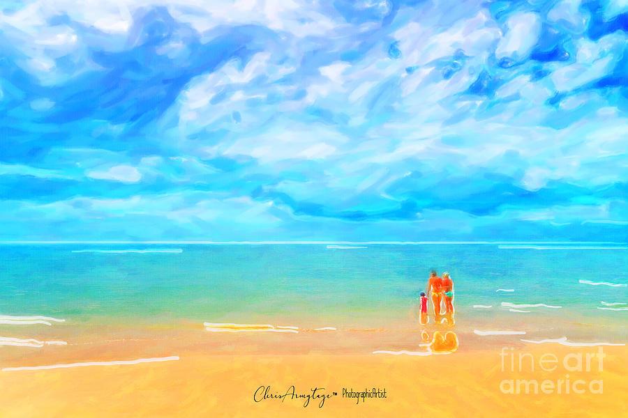 Beach Blues II by Chris Armytage