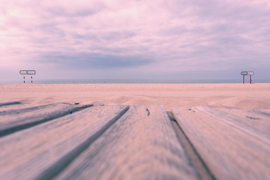 Beach Photograph - Beach Boardwalk by Lauri Novak