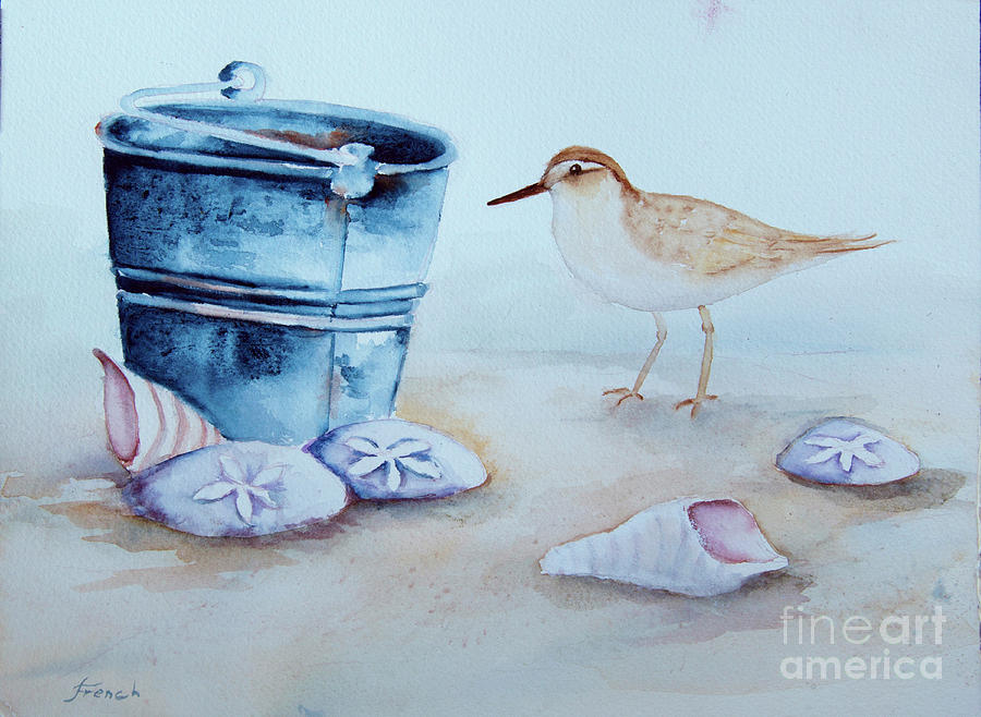 Beach Combing by Jeanette French