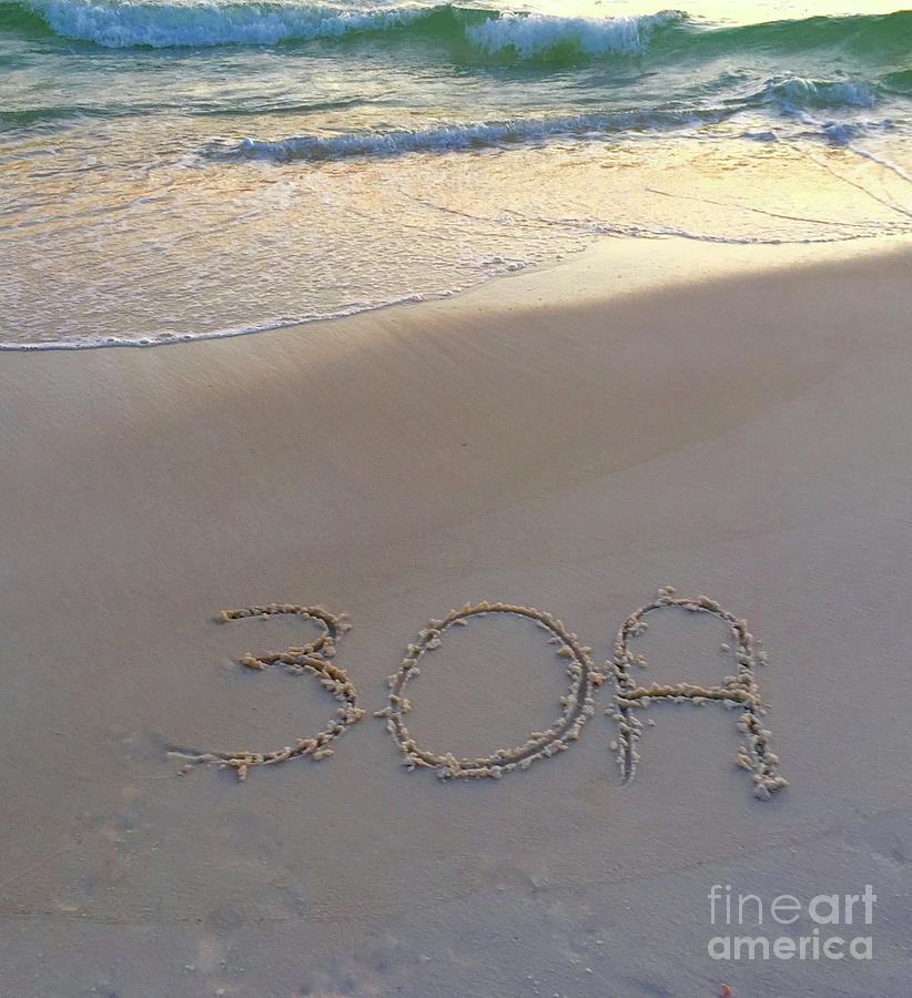 30a Photograph - Beach Happy by Megan Cohen