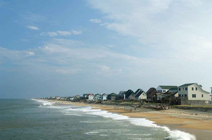Beach Houses Photograph by Jpecha