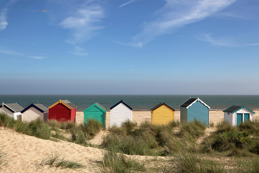 Beach Huts, Southwold, East Anglia Xxxl Photograph by Designsensation