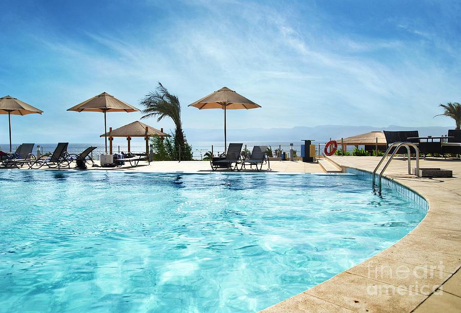 Beach in Aqaba, Jordan by Jelena Jovanovic