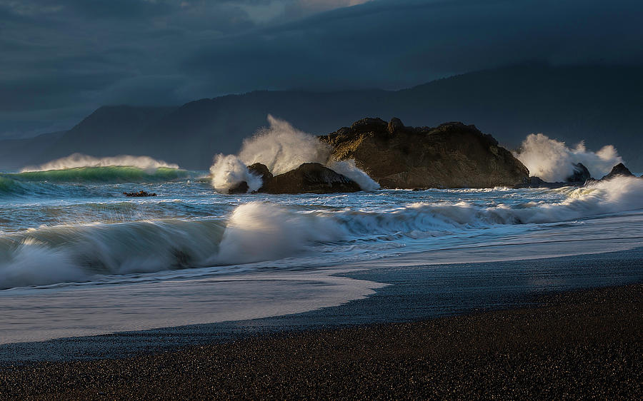 Beach in Oregon by Don Hoekwater Photography