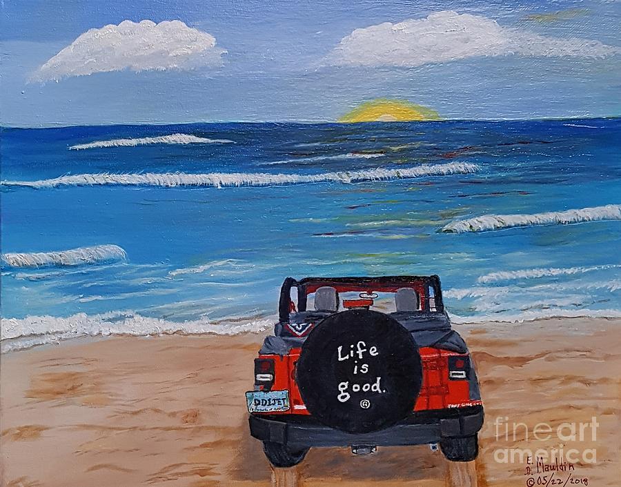 Beach Less Traveled by Elizabeth Dale Mauldin